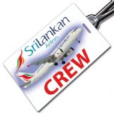Sri Lankan Airlines A320 Crew Tag